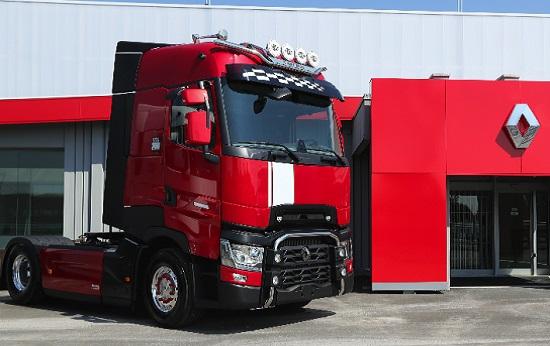 La via è la destinazione Trucker professionale CAMION camionista si conducente IVECO SCANIA SHIRT
